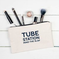 Tube Station Make Up Pouch