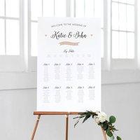 Pearl Wedding Table Plan