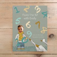 From One To 10 With Name Of Child Hardback