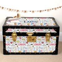 London, New York, Paris Tuck Box