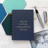Personalised Making Memories Book For Grandad