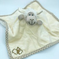 Sheep Finger Puppet Soother And Baby Rattle