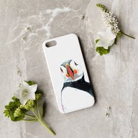 Inky Puffin Phone Case