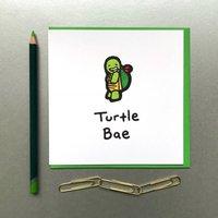 Bae Turtle Card