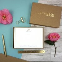 Aviary Collection Personalised Correspondence Cards