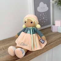 Personalised Kaloo Chloe K My First Doll Soft Toy
