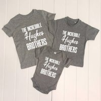 The Incredible Brothers Set Of Three T Shirts
