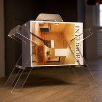 Farleigh Clear Magazine Rack