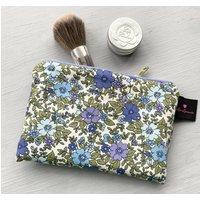 Vintage Inspired Floral Make Up Bag