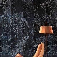 Marble Wallpaper By Piet Hein Eek, Black/White/Beige