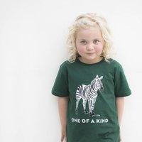Organic Zebra Children T Shirt