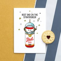 Best Dad Beer Fathers Day Card