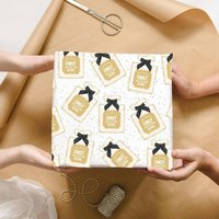 Personalised Perfume Bottle Wrapping Paper