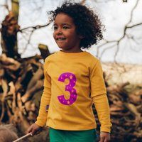 Personalised Age/Number Kids T Shirt