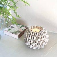 Ceramic Flower Tealight Holder