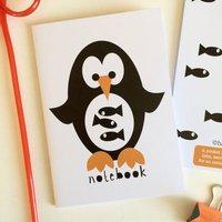 Penguin Notebook Party Bag Filler Or Stocking Filler
