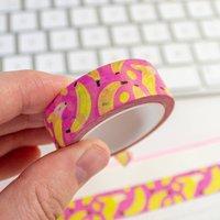Pink Banana Washi Tape