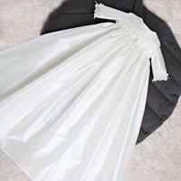 Kara ¾ Sleeve Christening Gown