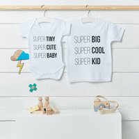 Super Kid And Super Baby Clothing Set