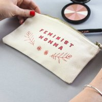 Feminist Momma Make Up Bag