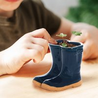 Welly Boots Garden Seed Plant Pot