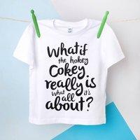 Hokey Cokey Childrens Organic T Shirt