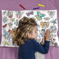 Colour In Pillowcase Fairies