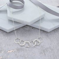 60th Birthday Infinity Link Necklace