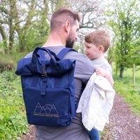 Personalised Mens Baby Changing Bag For Adventures