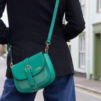 Personalised Vegan Leather Crossbody Handbag