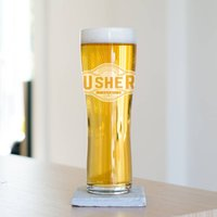 Usher Pint Glass