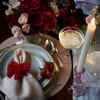 Valentines Day Tablescape Table Decoration Set