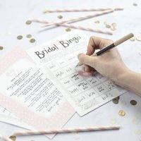 Bridal Bingo Hen Party Game