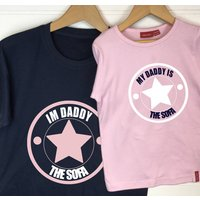 Personalised Father And Child Star Of The... T Shirt Set