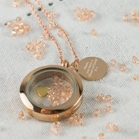 Rose Gold Heart Of Gold Necklace, Gold