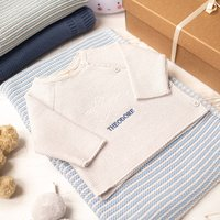 Unisex Baby Star Knitted Outfit Set