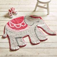 Elephant Cotton Rug