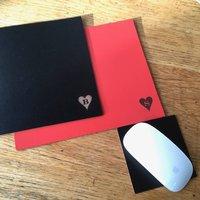 Anniversary Gift Leather Desk Mats