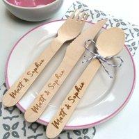Personalised Engraved Wedding Cutlery