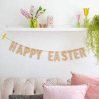 Happy Easter Wooden Garland
