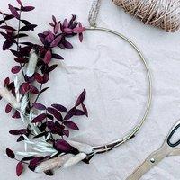 Dried Winter Wreath Making Kit