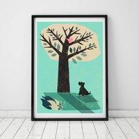 Fox Terrier Print