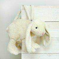Cream Bunny Handbag, Personalised