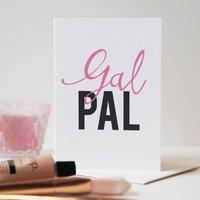 Gal Pal Galentines Friendship Card
