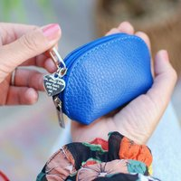 Personalised Mini Leather Coin Purse