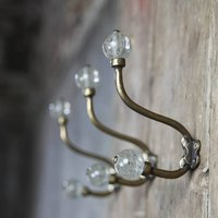 Crackle Glass Hook