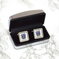 Family Crest Personalised Cufflinks