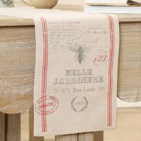 Belle Jardinere French Style Cotton Table Runner