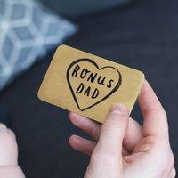 Step Dad 'Bonus Dad' Wallet Card