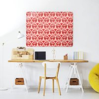 Birds Pattern / Large Magnetic Notice Board